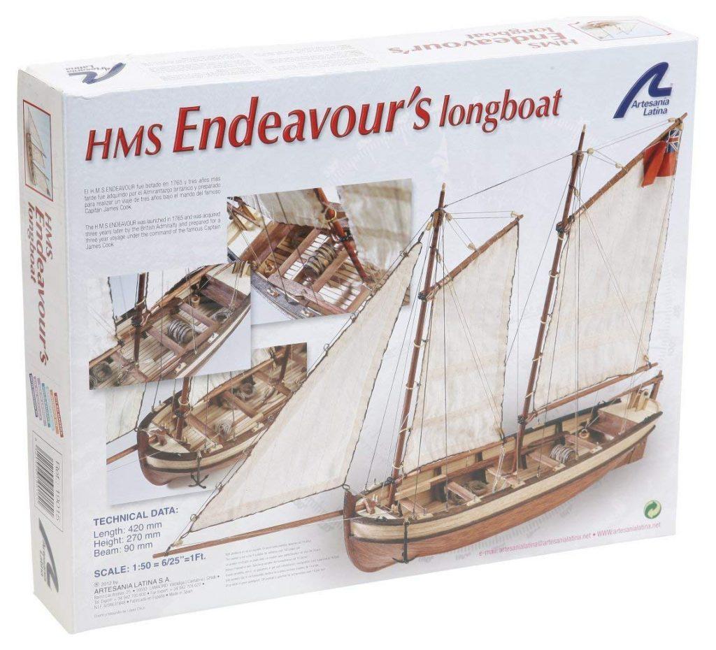 caja de modelismo naval