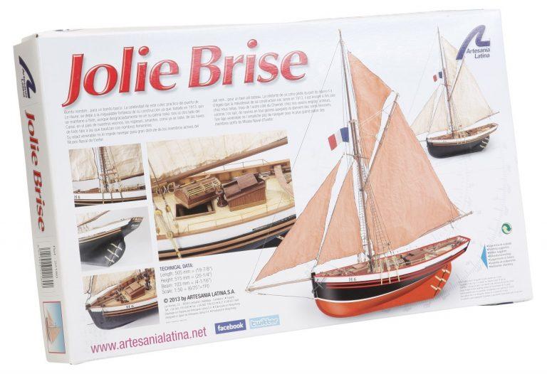 Maqueta del Jolie Brise