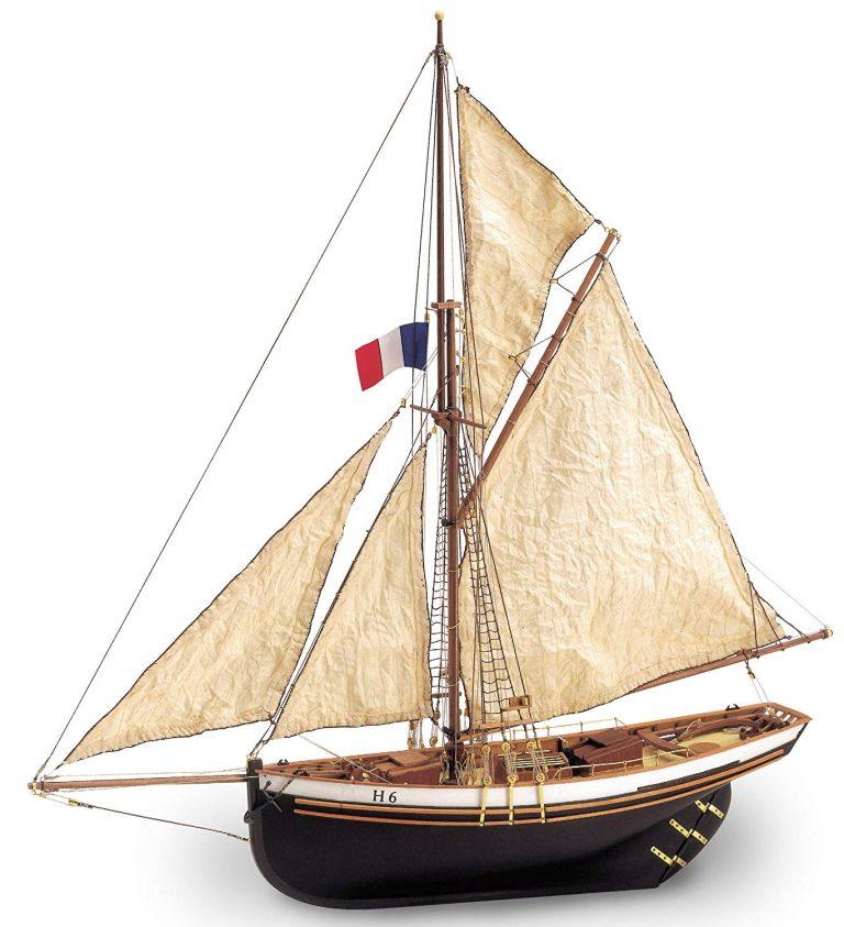 Maqueta del barco Jolie Brise