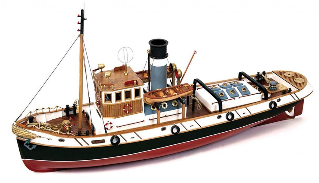 Maqueta ulises modelismo naval