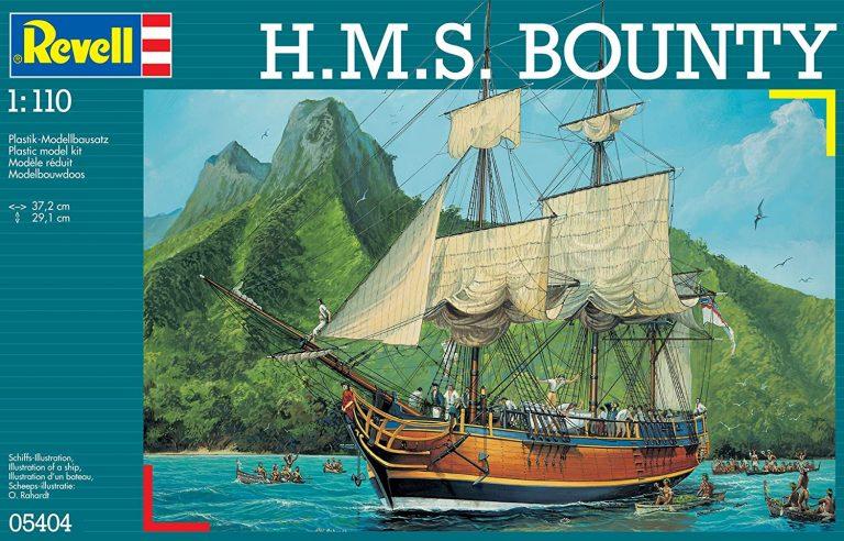 HMS BOUNTY REVELL 2