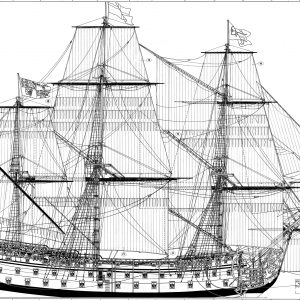 HMS Royal William 1719 1