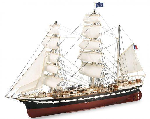 maqueta de modelismo naval Belem